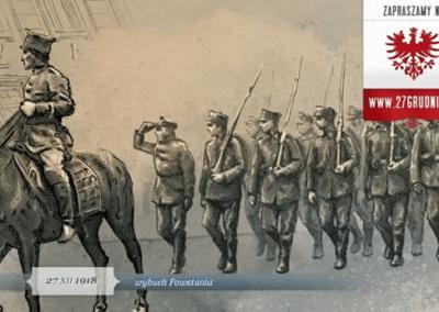 Pocztówka upamiętniająca Powstanie Wielkopolskie