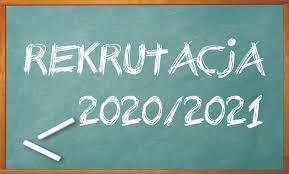 Rekrutacja 2020/21 – nowy harmonogram!
